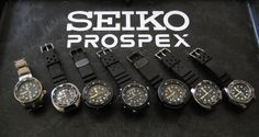 Seiko Professional Specifications – PROSPEX
