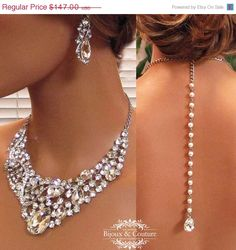 back drop bib necklace by BijouxandCouture, $132.30
