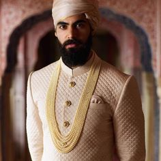 From winter 2018, the Sabyasachi menswear line introduces a new house classic- our quilted silk sherwani in hand-dyed Murshidabad silk and…