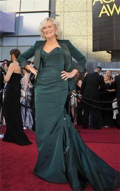 Glenn Close in Zac Posen [Oscar 2012]