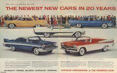 Chrysler Plymouth, Chrysler Dodge, Chrysler Imperial &Chrysler