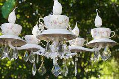 tea cup lighting