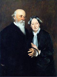 John Singer Sargent (1856-1925) - Mr. and Mrs.John W.Field, 1882