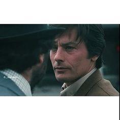 Deux Hommes dans la Ville ( two men in town) ____/1973 #alaindelon #movies…