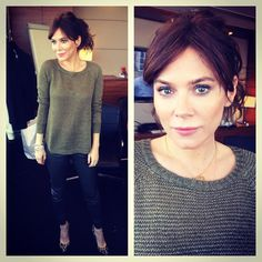 Marcella press junket over for @itv. Thanks team  @laurengriffinmua #makeup and…