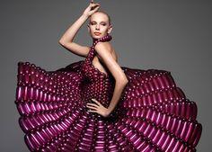 vestidos globo