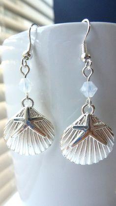 Seashell Earrings – Made by Megan
