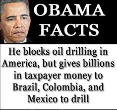 "UNDER 'O' -FOR 'SOME' REASON, AMERICA CANNOT DRILL OFFSHORE ALONG OUR COASTS OR IN THE GULF.    OBAMA'S MORITORIUM ON DRILLING CULMINATED IN THE LOSS OF ALL OUR OIL PLATFORMS WHICH MOVED TO BRAZIL.  IRONICALLY, IT 'IS' OK FOR BRAZIL AND MEXICO TO DRILL OFFSHORE...AND OBAMA PROVIDED $2 BILLION TO FINANCE DRILLING IN BRAZIL, PROMISING THAT ""AMERICANS WILL BE YOUR BEST CUSTOMERS"".   OOPS - CHINA MOVED IN AND GOT THE OIL.  WE THE TAXPAYER  LOST THE OIL,THE PLATFORMS,AND THE TAXPAYER DOLLARS."