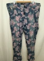Torrid worn out floral jeans!