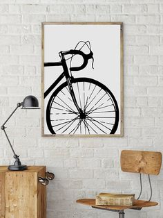 cycling poster Bike art print Bicycle poster Bike by BikeWoodHome art diy canvas painting Bicycle Art, Bicycle Design, Bicycle Painting, Bicycle Sketch, Poster Bike, Bike Tattoos, Bike Quotes, Cycling Quotes, Cycling Art
