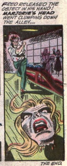 Head as a bowling ball   comic books comics