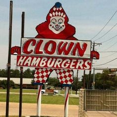 vintage fort worth neon signs | Clown Burger Too, Fort Worth - Restaurant Reviews - TripAdvisor