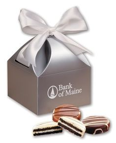 We're celebrating National Oreo Cookie Day with chocolate covered Oreos® in a silver gift box! How do you enjoy Oreos®?