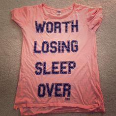 "Selling this ""Victoria's Secret pink brand sleepshirt"" in my Poshmark closet! My username is: fizzmeistro. #shopmycloset #poshmark #fashion #shopping #style #forsale #PINK Victoria's Secret #Tops"