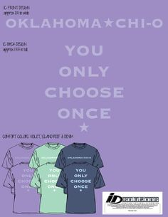 Oklahoma Chi Omega Fall PR t-shirt #chio #tshirt #greek #sorority #mint #comfortcolors