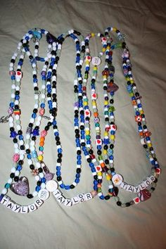 This is one of the many reasons why... Striving for More (www.striving4more.org) fully funds the Beads of Courage program at Duke and UNC. This is one of the patients that receives them at Duke. She has received a bead for every procedure she has endured. Can you imagine?