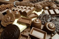 Sweets for delivery include dark chocolates