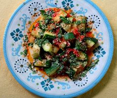 Zucchini and Tomato Saute with Parmesan and Basil