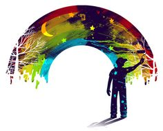 Midnight Rainbow Painter