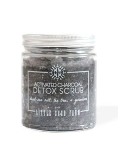 Activated coconut charcoal safely draws out skin impurities, helps heal troubled skin and reduces inflammation, while coconut oil and a blend of essential oils heal and moisturize your skin. Geranium Essential Oil, Lemongrass Essential Oil, Essential Oils, Coconut Oil For Lips, Organic Coconut Oil, Organic Tea Tree Oil, Organic Oil, Activated Charcoal Detox, Sea Salt Scrubs
