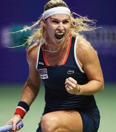 Blog Esportivo do Suíço:  Cibulkova vence em sets diretos e elimina Halep no WTA Finals