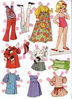 Dolly Darlings - Lorie Harding - Álbuns da web do Picasa Plus Size Girls Clothing, Paper Toys, Paper Crafts, Long Pixie Cuts, Paper Dolls Printable, Vintage Paper Dolls, Doll Patterns, Doll Toys, Dolls Dolls