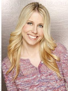 Long Blonde Layered Hair Farrah Fawcett