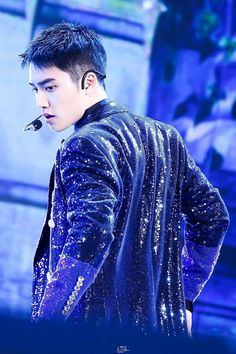 ImageFind images and videos about kpop, exo and kyungsoo on We Heart It - the app to get lost in what you love. Kyungsoo, Kaisoo, Chanbaek, Music Waves, Exo Official, Exo Korean, Do Kyung Soo, Kpop Exo, Entertainment