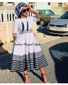 there are some incredible styles you can see with TRADITIONAL XHOSA AND ZULU that will make you the center of attention at any occasion Latest African Fashion Dresses, African Dresses For Women, African Print Fashion, African Women, South African Traditional Dresses, Traditional Outfits, Traditional Wedding, Zulu Traditional Attire, Xhosa Attire