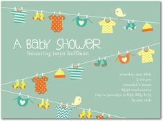 Summer Baby Shower Invitations: Today's Staff Picks | Tinyprints Blog