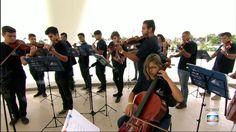 A Orquestra Maré do Amanhã reúne 1,3 mil jovens. Para o maestro Carlos Eduardo…