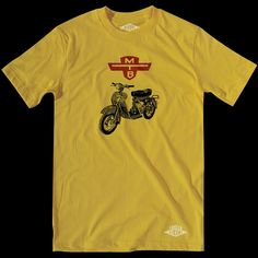 Motobic Vintage Scooter TShirt by vidaiberica on Etsy.