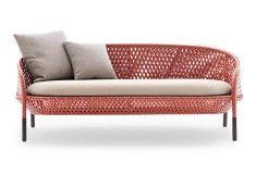 AHNDA Zweisitzer - Design: Stephen Burks - Hersteller: DEDON ✔ Außensofas und weitere Außensitzmöbel finden Sie bei Stylepark.com der führenden Plattform für Design und Architektur