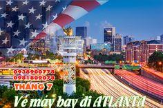 Săn vé máy bay đi Atlanta giá rẻ tháng 7