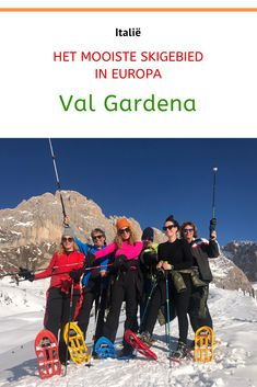 Val Gardena in Zuid-Tirol is een fantastisch wintersportgebied. De Dolomieten vormen een mooie achtergrond tijdens het skiën, langlaufen, snow shoeing of snowboarden. Het eten is fantastisch, 300 dagen per jaar zon. #italië #wintersport #skivakantie #valgardena #Dolomieten