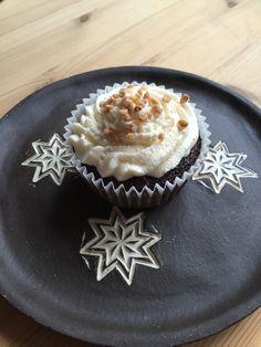 Schoko-Caramel-Cupcake