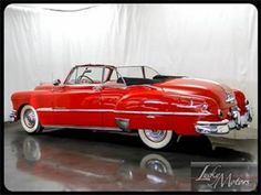 1951 Pontiac Chieftain Red Convertible.Pic#2.