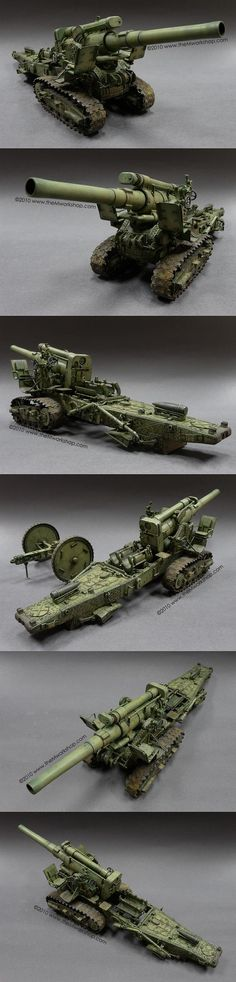 B4 203mm Howitzer 1/35 Scale Model