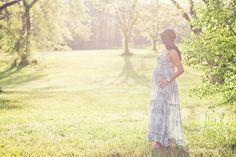 Charlotte Maternity Photography-- A Boho Hazy Evening Session