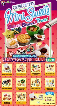 """쁘띠 샘플 USA 버전 """"Mini Sweets"""""""