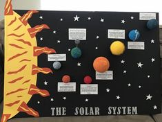Super science art projects for kids solar system ideas - kids science Solar System Model Project, Solar System Science Project, Solar System Projects For Kids, Solar System Activities, Science Projects For Kids, Solar Projects, Art Projects, Project Ideas, Solar System Poster