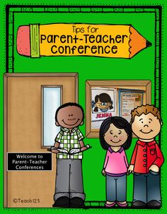 Parent-teacher Conference Tips and a freebie for you!