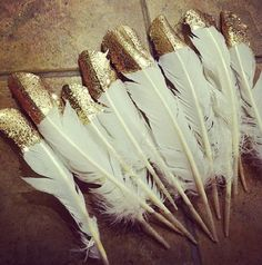 Golden feather.