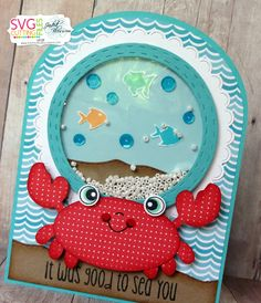 The Cricut Bug: Jaded Blossom Die Release Blog Hop- It Was Good To SEA You!