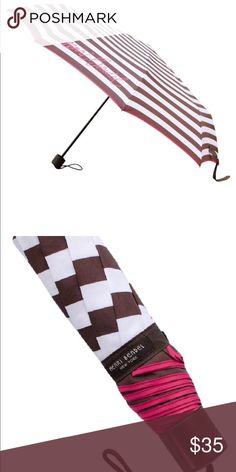 Henri Bendel umbrella Brand new striped packable umbrella. Still in package. henri bendel Accessories Umbrellas