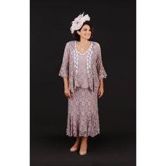 Ann Balon Annalisa Dress and Jacket In Fuxia Forte