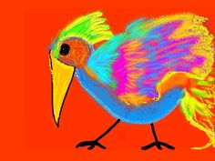 Stampende vogel