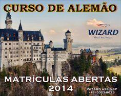 WIZARD ASSIS - Escola de Idiomas: CURSO DE ALEMÃO 2014