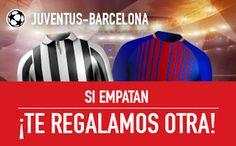 el forero jrvm y todos los bonos de deportes: sportium promocion champions Juventus vs Barcelona...