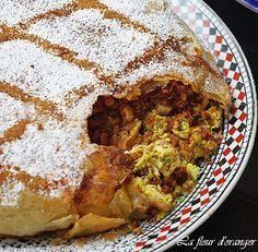 Chicken Pastilla - delicious Moroccan specialties